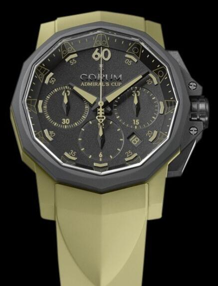 Corum Admirals Cup Challenger 44 Chrono Replica watch 753.817.02/F377 AN27